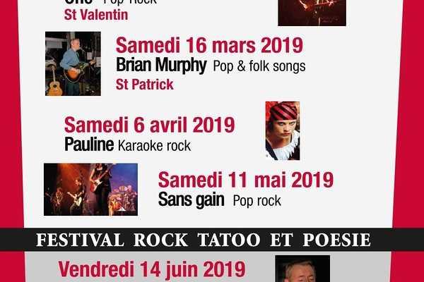 Concerts à venir pour l''année 2019