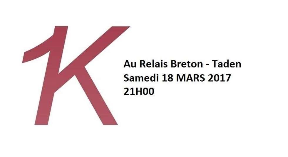 1 k en concert le 18 mars 2017 au relais